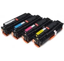 Toner Compatível HP 305A (CE411A) HP LaserJet Pro 300/ 400/ 475/ M451 cyan 2.6k
