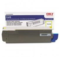 Toner Compatível Amarelo OKI C610 6k (44315305)