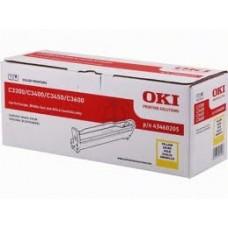 DRUM BK Reg. C3300n/3400n/3450n/3600 YELLOW 15K - 43460205