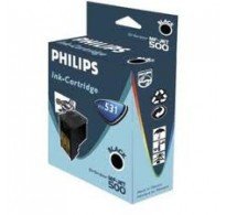 TINTEIRO ORIGINAL BLACK P/ PHILIPS MF-JET 440 MF-JET 450 MF-JE