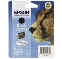 TINTEIRO Compatível BLACK EPSON STYLUS T0711 (T071140) (245PAG)