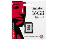 CARTÃO DE MEMÓRIA KINGSTON MICRO SD 16GB