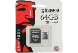 CARTÃO DE MEMÓRIA KINGSTON MICRO SD 64GB