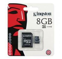 CARTÃO DE MEMÓRIA KINGSTON MICRO SD 8GB